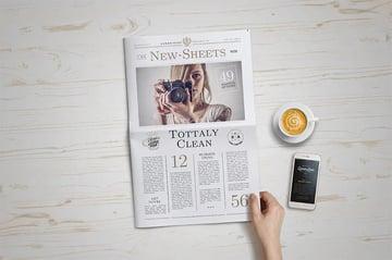 Printable Newspaper Template