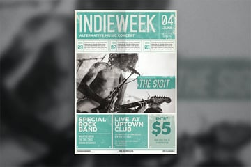Indie Newspaper Template