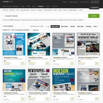 More Premium Newspaper Templates From GraphicRiver