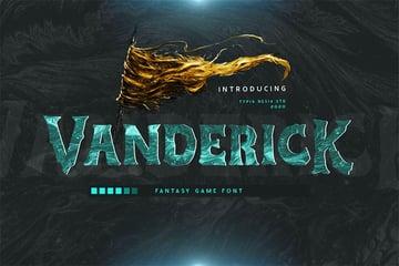 Vanderick Fantasy Fonts Online