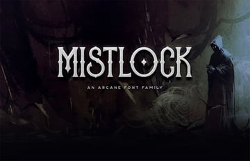 Mistlock Fantasy Text Font