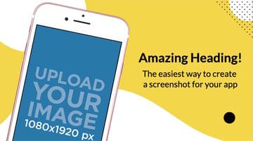 App Store Screenshot Design