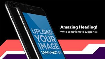 Template for App Store Screenshot