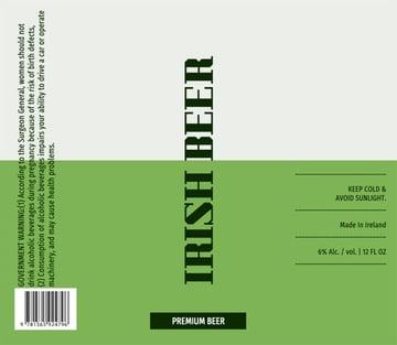 Beer Bottle Label Maker for Irish Beer