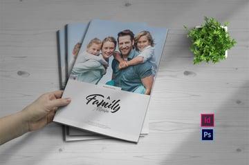 Adobe InDesign Photobook Templates