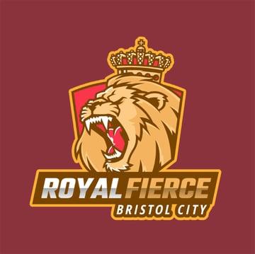 Roaring Lion Illustration Template