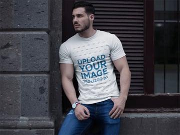 Shirt Mockup White