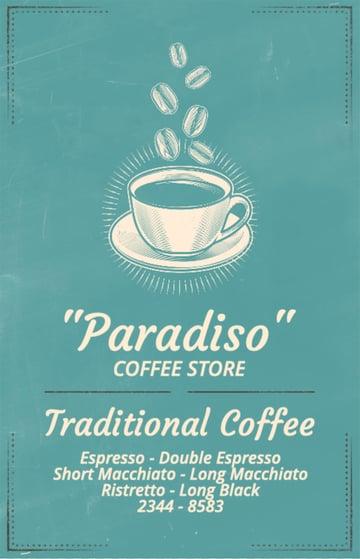 Cafe Flyer