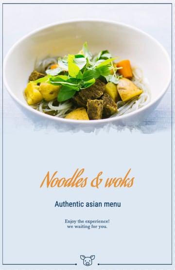 Asian Food Vendor Flyer Template