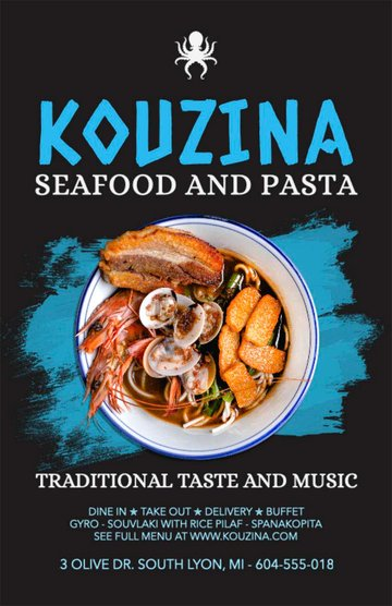 Seafood and Pasta Restaurant Ideas