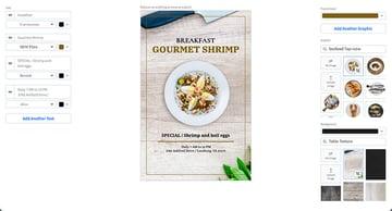Select a Restaurant Flyer Template
