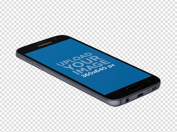 Android Perspective Mockup PNG