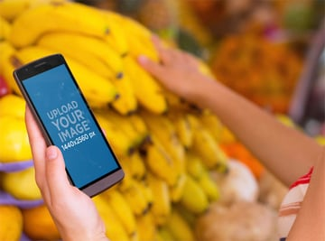 Grocery Shopping with Android Mockup