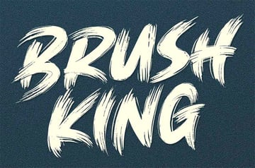 Brush King - Brush Style Font