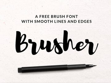 Brush Script Font Free