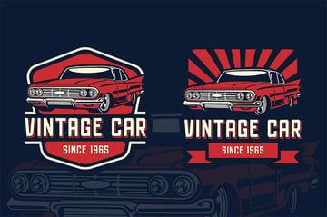 Old Fashioned Long Design - Vintage Car
