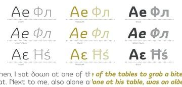 Vulgat San Serif Font