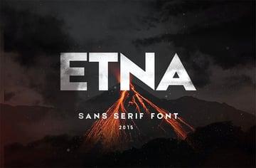 Etna Cyrillic Sans Serif Fonts