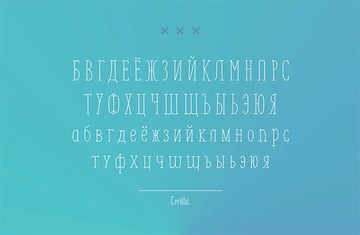 Monly Extended Russian Character Font