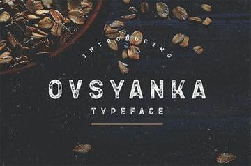 Ovsyanka Russian Cyrillic Font Download