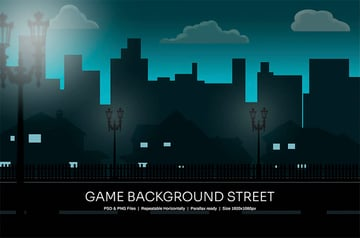Game background for Photoshop