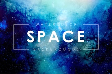 Space backgrounds for Photoshop