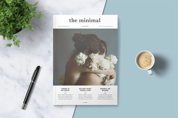 Zine Template Pages