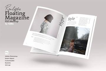 Zine Magazine Template