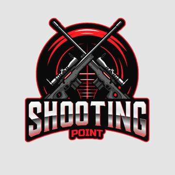 Shooting Point Gaming Logo Maker Avatar