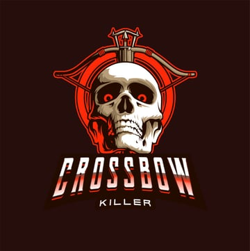 Crossbow Easy Gaming Logo Maker