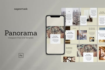 Panorama Instagram Post Layout