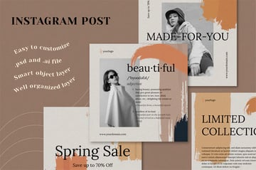 Instagram Post Layout Templates
