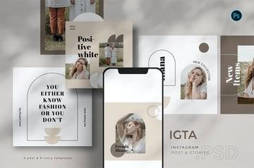 IGTA - Instagram Template