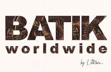 BATIK Worldwide Font