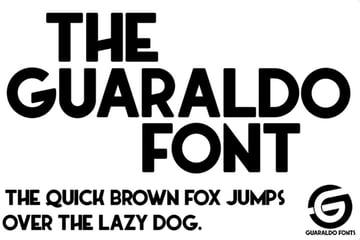 Guaraldo Free Sans Serif Fonts
