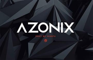 Azonix - Modern Sans Serif Font Free