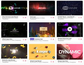 10 Top Logo Sting Animation Templates for DaVinci Resolve