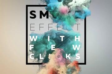 Smoke Photoshop Text Styles Pack