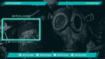 Webcam Border for OBS for Medieval Gaming Livestreams