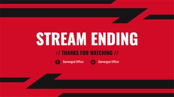 Ended Stream Border for Twitch with Dynamic Graphics