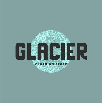 Streetwear Clothing Logo Design Featuring a Textured Graphic