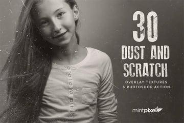 30 Dust Grunge Overlay Textures