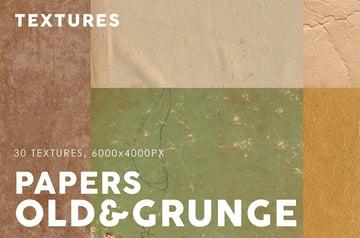 Old & Grunge Paper Textures