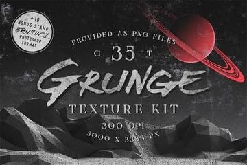 Grunge Textures PNG