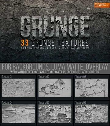 33 Dark Grunge Textures