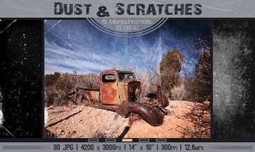 Dust and Scratches Texture Photoshop