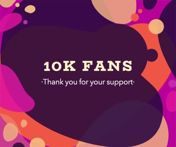 Subscriber Thank You Message Post Maker for Facebook