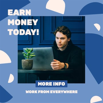 Ad Banner Generator for a Work-From-Home Business Opportunity