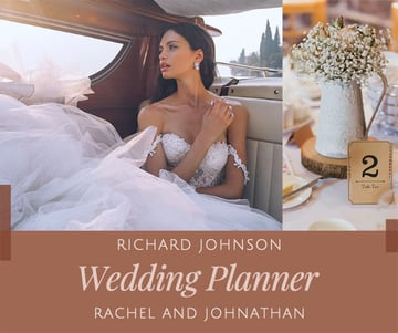 Facebook Post Creator for Wedding Planners