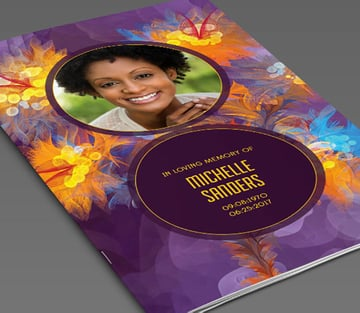 Remember Funeral Service Template